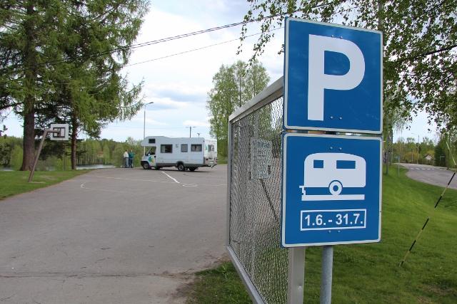 Uusi matkaparkki avautuu kesäksi Jäppilään
