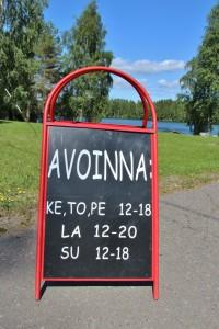 Jäppilän Kievari on auki heinäkuussa ja kesäviikonloppuisin. Yksityistilaisuudet muuttavat aukioloaikoja.