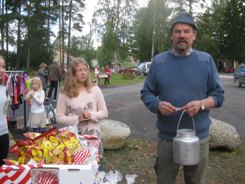 Tunnelmia Jäppilän maalaismarkkinoilta