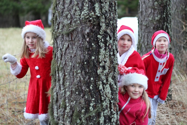 Joulu tuli Jäppilään