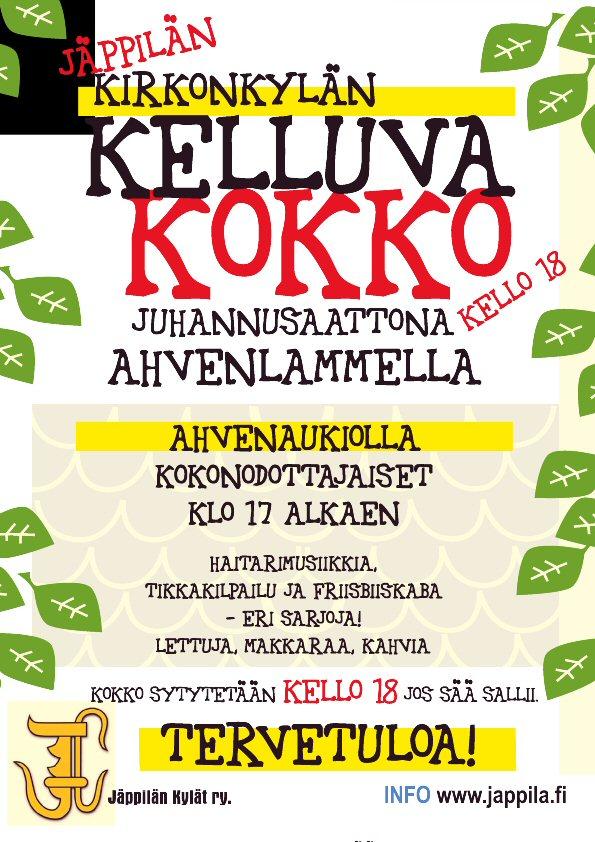 Jäppilän Kelluva Juhannuskokko