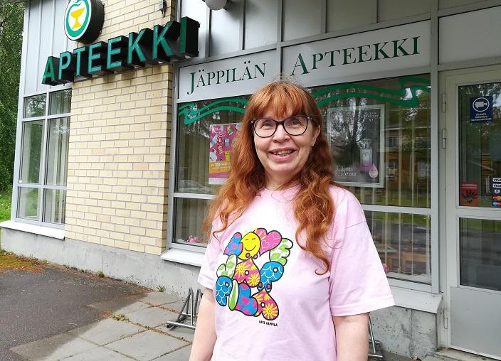Apteekkarina Jäppilässä
