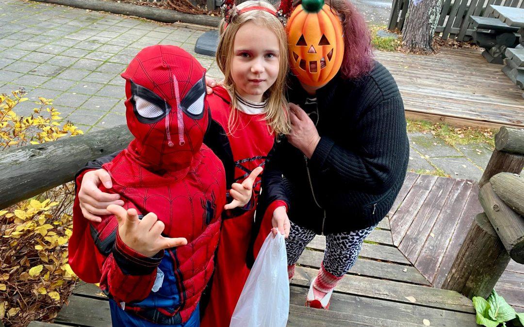 Halloween Jäppilässä